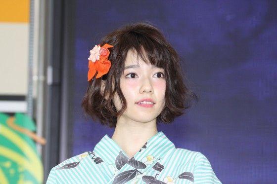 「少しの期間」休養を発表した島崎遥香(画像は6月撮影のもの)