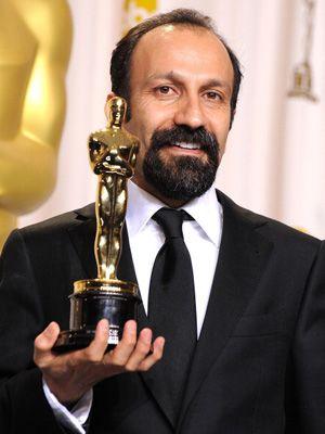 まさかのアカデミー賞ボイコット! 画像は今年、アカデミー賞を受賞した『別離』のアスガー・ファルハディ監督