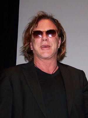 ニューヨーク映画祭での、ミッキー・ローク