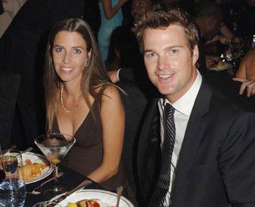 クリス・オドネルと妻のキャロライン・フェントレス