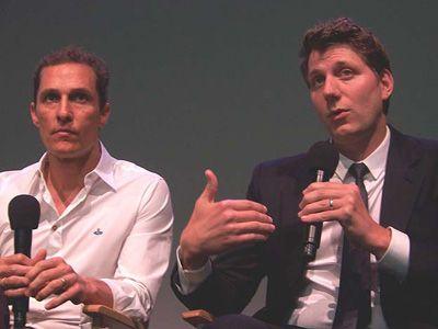 マシュー・マコノヒー(左)、ジェフ・ニコルズ監督(右)