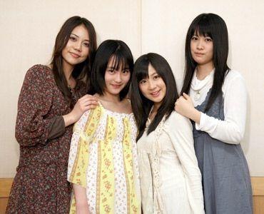 写真左から:松山愛里、あいか、小野恵令奈、飛鳥凛