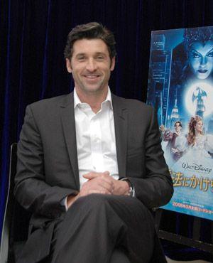 <お気に入りのテレビ男優>に選ばれた「グレイズ・アナトミー 恋の解剖学」のパトリック・デンプシー