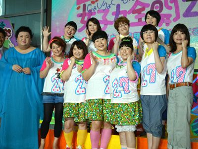 FNS27時間テレビのメインパーソナリティを務める女芸人11人