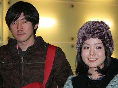 注目の新人 野村勇貴(左)と佐藤麻優(右)