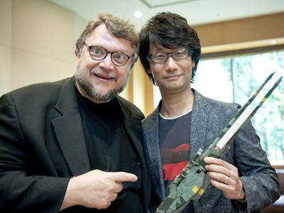 超仲良しの二人! 小島秀夫監督とギレルモ・デル・トロ監督