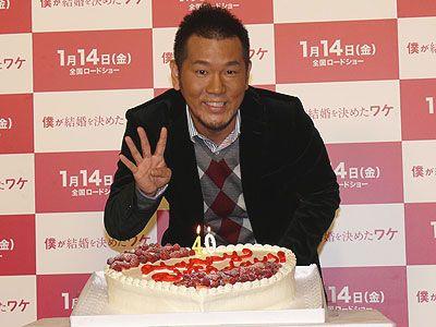 40歳を迎え、幸せまっさかりな藤本敏史!