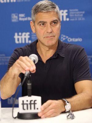 プライベートな質問にユーモアも交えながらも喝を入れたジョージ・クルーニー-第36回トロント国際映画祭