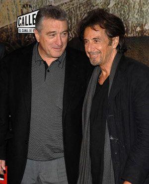 友だちだよな。 -ロバート・デ・ニーロ(左)とアル・パチーノ(右)