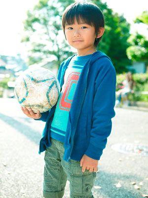 サッカー少年! 加藤清史郎!-ドラマ「ロス:タイム:ライフ」~親子篇~より