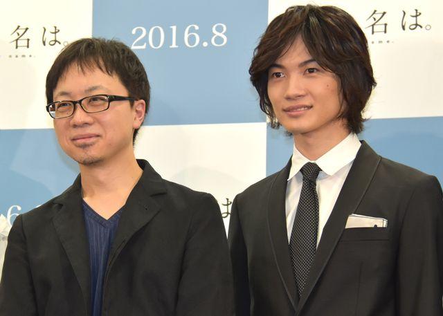 新作アニメ『君の名は。』でタッグを組む新海誠監督と神木隆之介