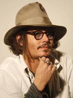 ジョニー・デップ-1月14日にベオグラードにて撮影