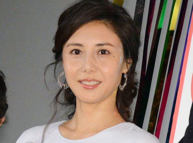 松嶋菜々子(写真は2018年2月撮影のもの)