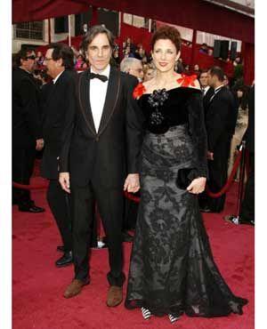ダニエル・デイ=ルイスと妻のレベッカ