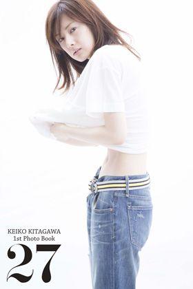 初写真集でほぼノーメイクの素顔を公開した北川景子