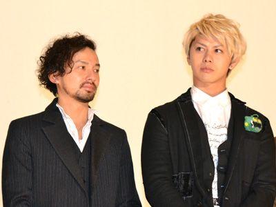 左・ISSA、右・山田親太朗