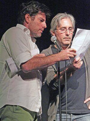 ポール・ワイツ(右)とクリス・ワイツ(左)