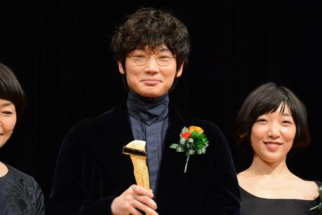 「第88回キネマ旬報ベスト・テン」にて主演男優賞を受賞し綾野流コメントで喜びを表した綾野剛