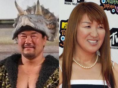 すてきな夫婦です - 佐々木健介と北斗晶