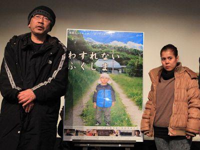 左から、四ノ宮浩監督、菅野バネッサさん