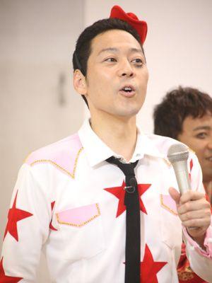 キンタロー。落選を報告した東野幸治