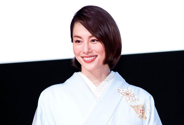 フェスティバル・ミューズとして登壇した米倉涼子