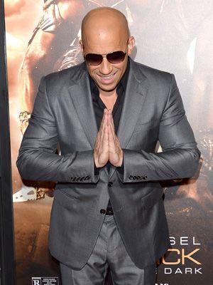 「アリガトウゴザイマ~ス!」 -映画『リディック(原題)/ Riddick』のユニバーサル・ピクチャーズ・プレミアに出席したヴィン・ディーゼル