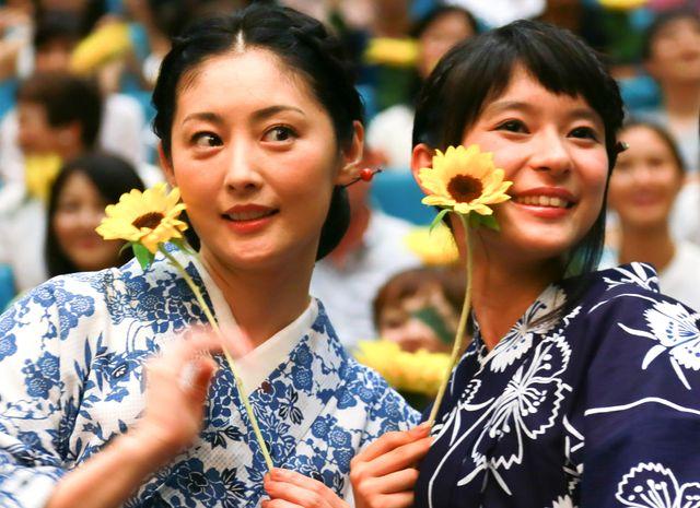 同一人物を演じた常盤貴子と芳根京子