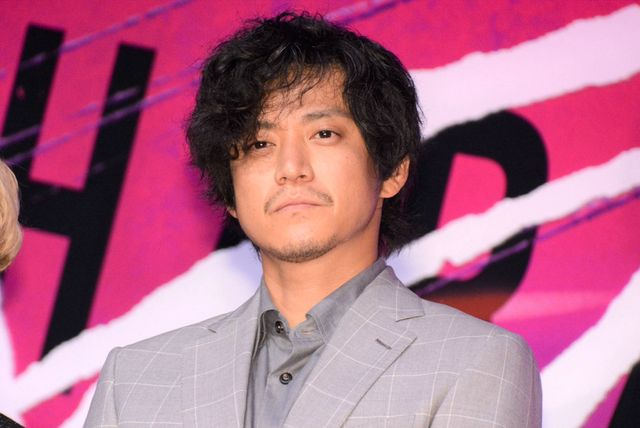 映画『キャラクター』(6月11日公開)の完成報告会に出席した小栗旬