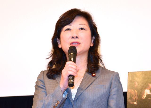 映画議員連盟会長の野田聖子議員