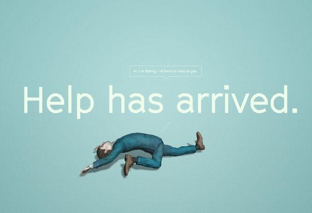 ぐにゃり - 映画『スイス・アーミー・マン(原題) 』海外公式サイトのスクリーンショット