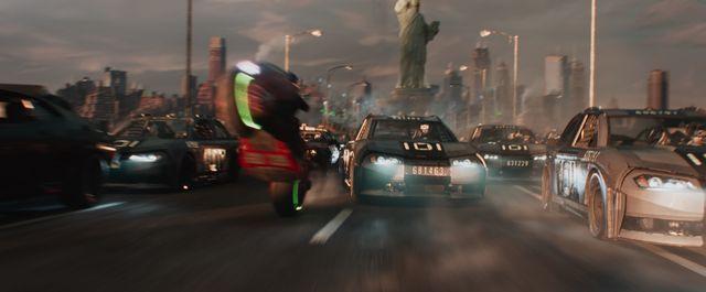 金田バイクがスピルバーグ映画で活躍する日が来るなんて!