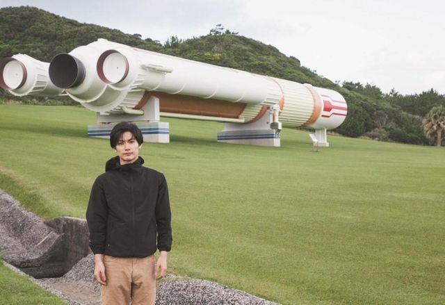 人生初連載で種子島宇宙センターを訪れた三浦春馬