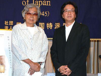 山田洋次監督と阿部勉監督(左から)
