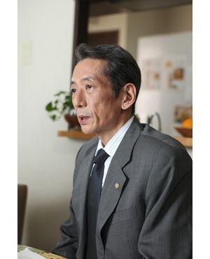 山田辰夫さん(映画『沈まぬ太陽』の場面写真より)
