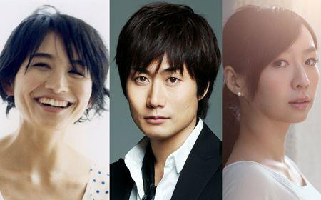 本作に出演する小島聖(左)、戸次重幸(中)、酒井若菜(右)
