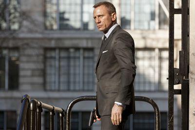映画『007 スカイフォール』より、第1位に輝いたダニエル・クレイグ