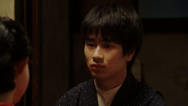 「おちょやん」で寛治を演じる前田旺志郎