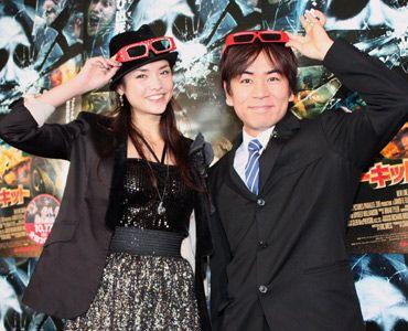 笑顔が何よりの証拠? (写真左から、加賀美セイラ、HEY!たくちゃん)