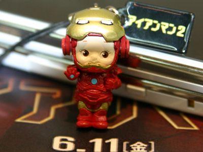『アイアンマン2』とキューピーが、キュージョン!