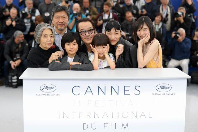 チーム『万引き家族』がカンヌに集結! - カンヌ映画祭フォトコールにて