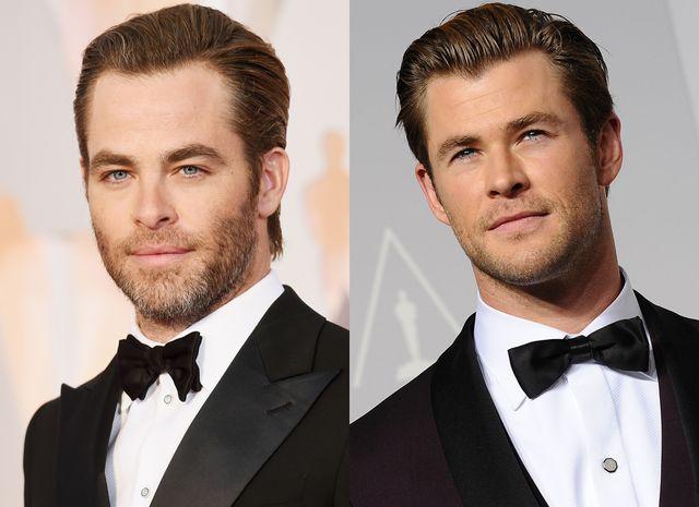 ハリウッドの素晴らしいクリスたち - クリス・パイン&クリス・ヘムズワース