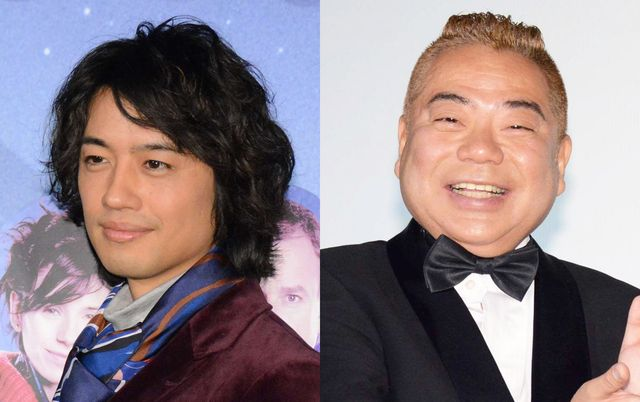 斎藤工と出川哲朗がワンツー!(画像はそれぞれ2016年、2017年に撮影)