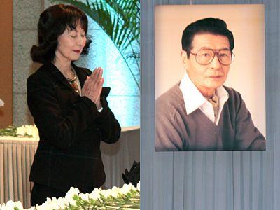 映画『雪国』で共演した岸惠子、故・池部良さんを偲ぶ