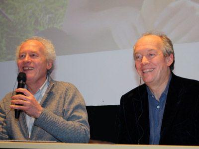 日本の少年の話に着想を得た新作と共に来日-左からジャン・ピエール=ダルデンヌ監督とリュック・ダルデンヌ監督