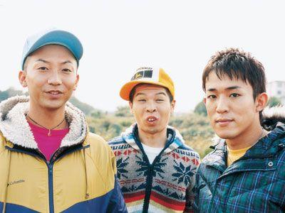 左からモン吉、DJケミカル、ファンキー加藤