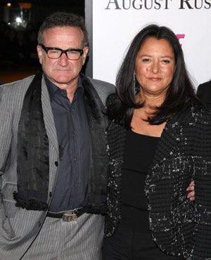 ロビン・ウィリアムズと妻のマーシャ
