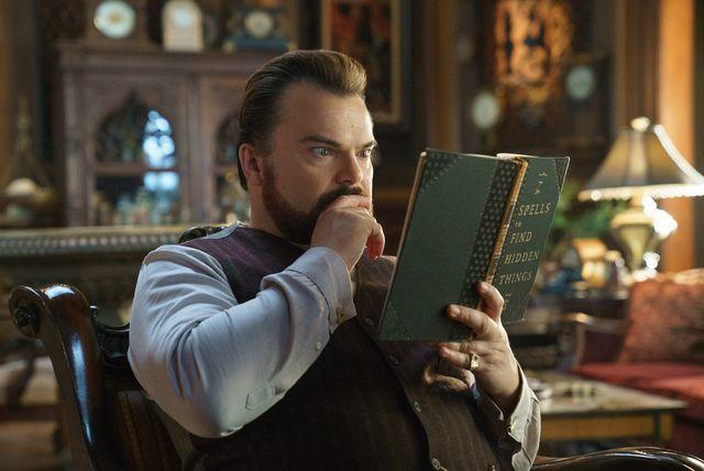 『ルイスと不思議の時計』では、ちょっと残念な魔法使いを演じるジャック・ブラック
