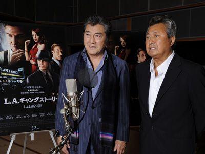 意外にも洋画に声をあれるのは初だったという松方弘樹と梅宮辰夫