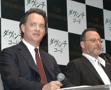 トム・ハンクスとジャンレノ